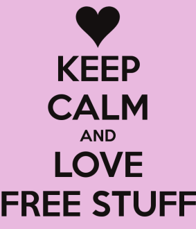 Keep Calm and Love Free Stuff